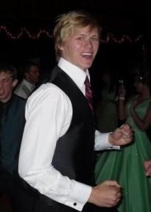 Jesse at prom
