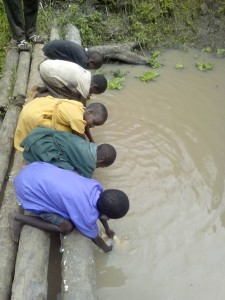 existing water source in Nsozibirye village