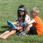KidsreadingGrass